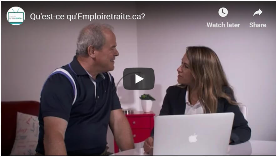 Video explicative emploi retraite